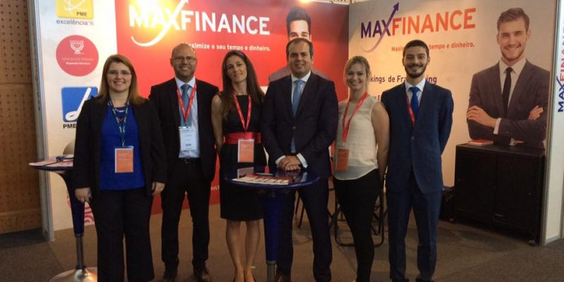 A Maxfinance esteve presente na ExpoFranchise 2017