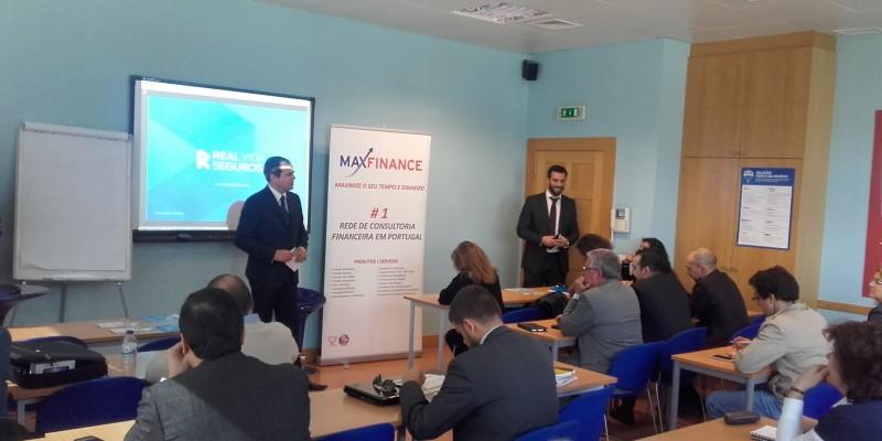 Na sequência das nossas sessões de Formação  algumas fotos  - Maxfinance Portugal CSI