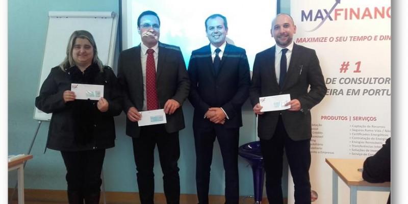 Na nossa sessão de  ontem foram entregues os Prémios de Produção - Maxfinance Portugal CSI