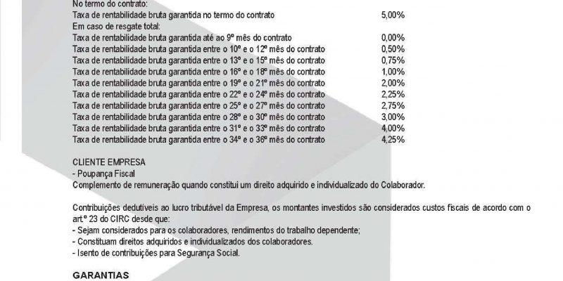 5,00%  Brutos GARANTIDO  a 36 Meses - Maxfinance Portugal CSI