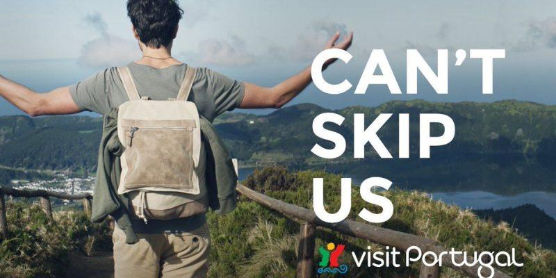 """""""Can't Skip Portugal"""". Uma campanha para dizer que """"é impossível escapar a Portugal"""""""