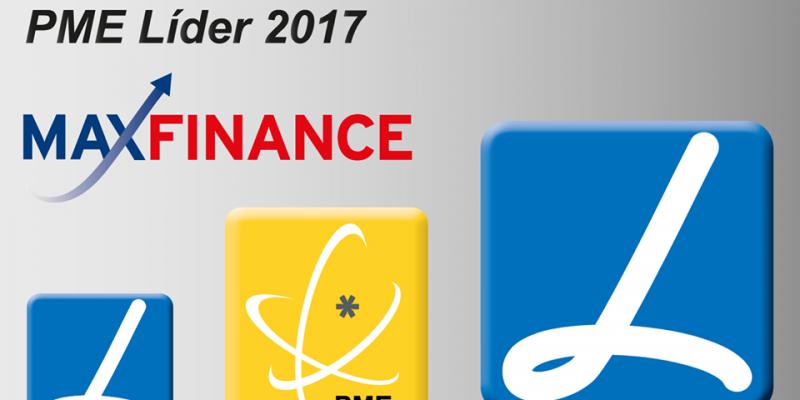 Maxfinance é PME Líder 2017
